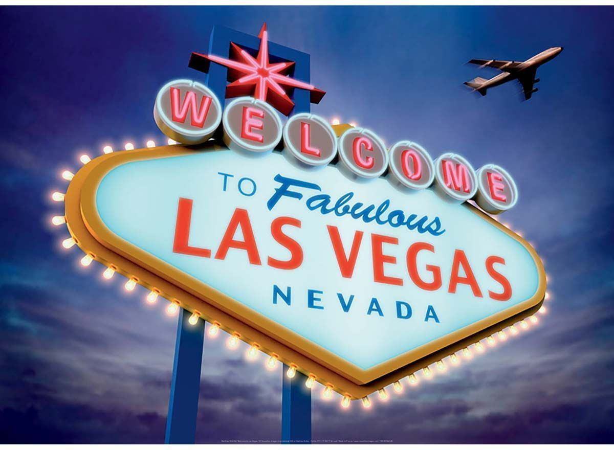 Affiche-Welcome-to-Las-Vegas-50x70-cm