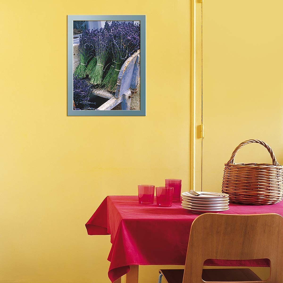 Affiche-Recolte-de-lavande-40x50-cm miniature 2