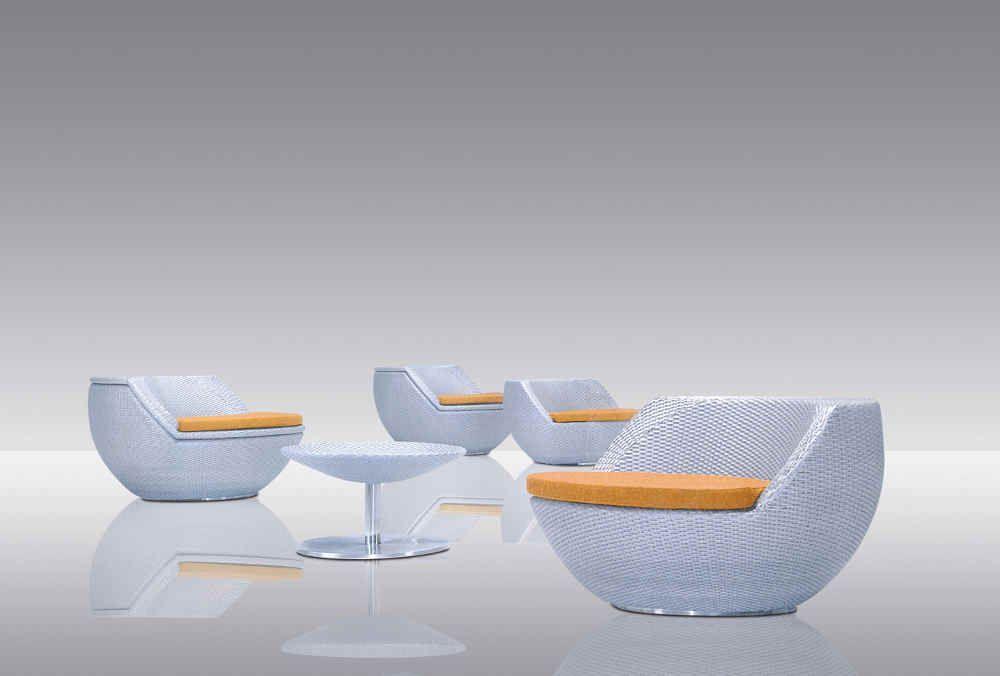 Salon de jardin polypropylene design - seaandsea