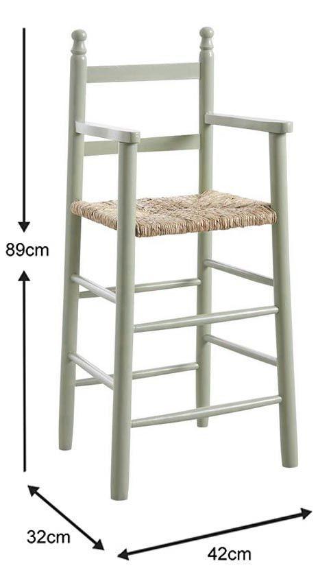 Chaise-haute-pour-enfant-en-hetre miniature 15