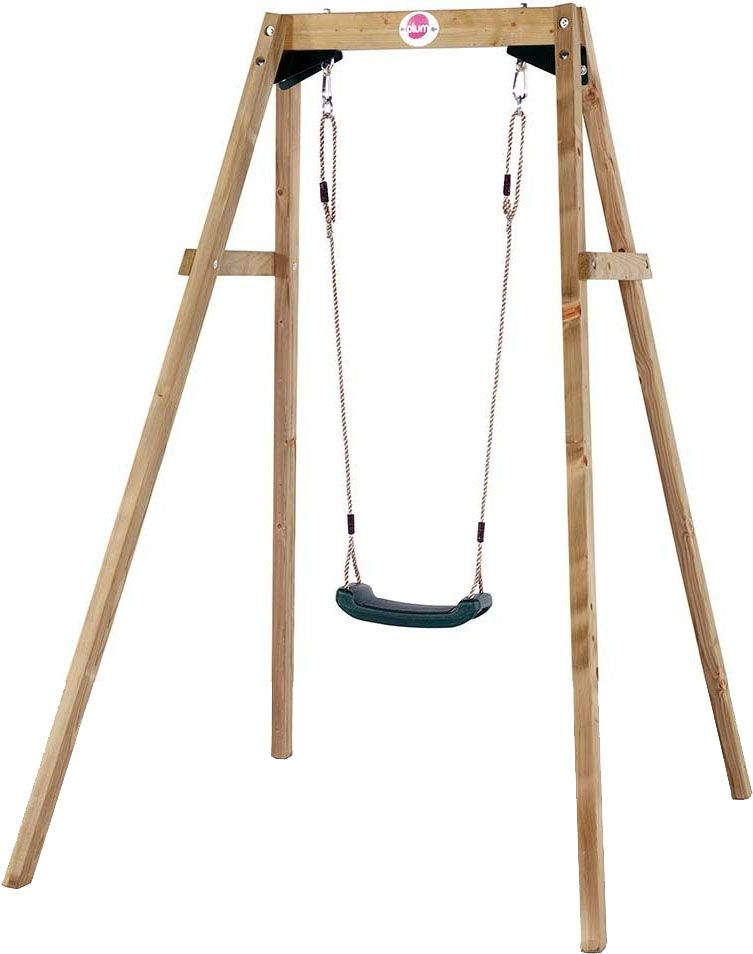 Portique avec balançoire assise moulée 1 balançoire